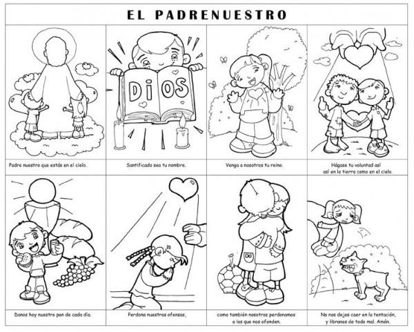 Dibujos Para Catequesis  El Padrenuestro