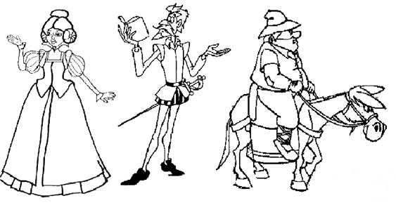 Quijoteinmaculada2016  Dibujos Para Colorear
