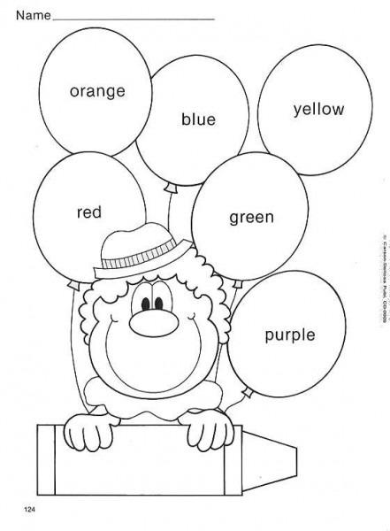 Actividades Infantiles Para Pintar Y Aprender Los Colores En