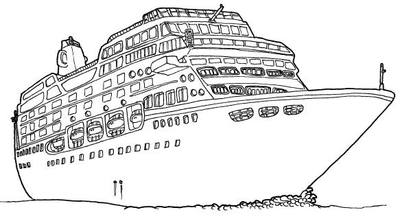 Dibujos De Titanic Para Colorear