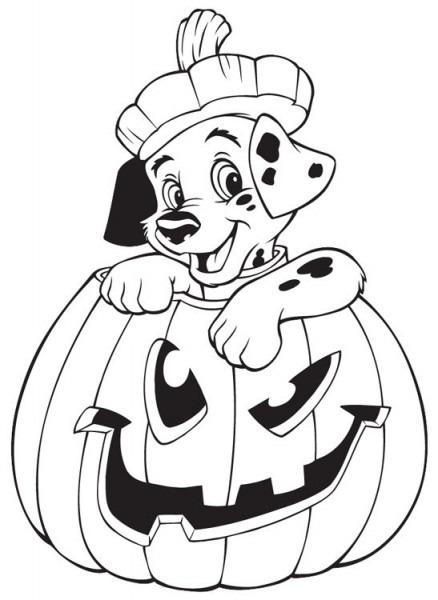 √ Dibujos De Halloween Disney Para Colorear E Imprimir