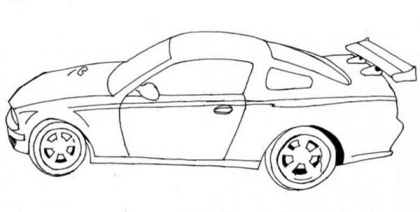 Colorear Autos Y Motos (56)