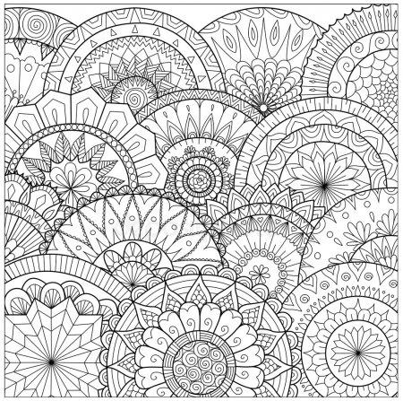 ᐈ Laminas Para Pintar Cuadros Imágenes De Stock, Dibujos Mandalas
