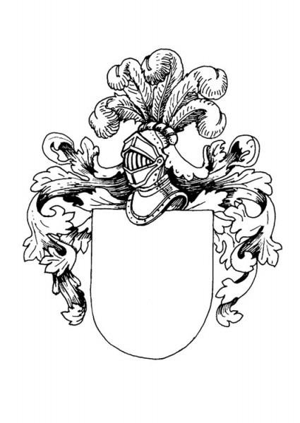 Escudos De Apellidos Para Imprimir Y Colorear