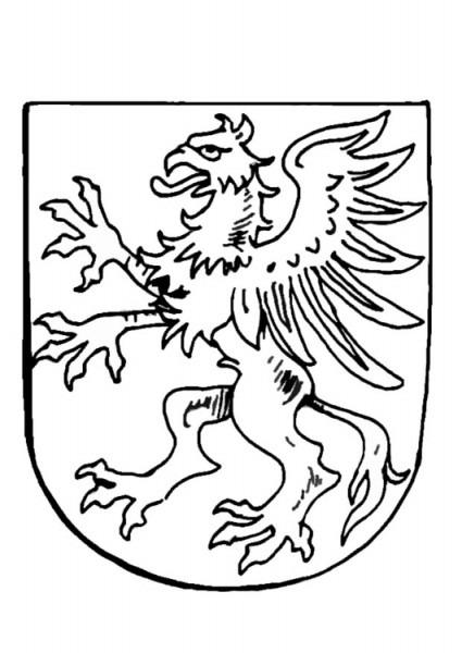 Dibujo Para Colorear Escudo De Armas