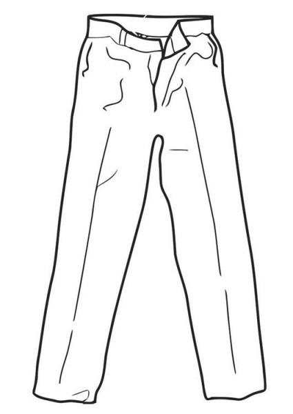 Dibujo Para Colorear Pantalones