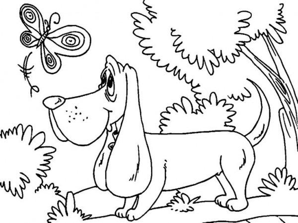 Dibujo De Perros Para Imprimir Y Colorear (10 De 12)