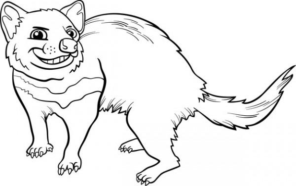 Dibujos Para Colorear Dibujos Animados Del Demonio De Tasmania