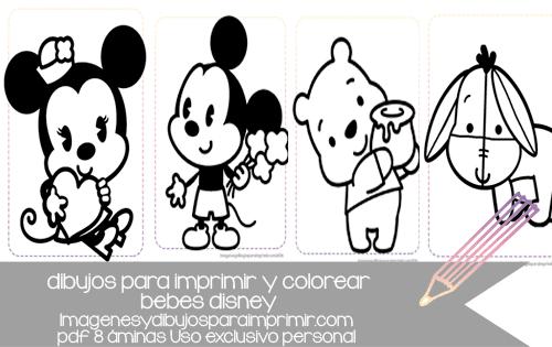 Dibujos De Bebes Disney Para Imprimir