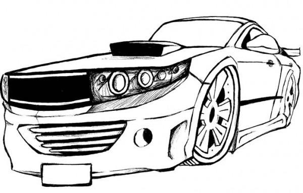 Mecânico De Nosso Quintal  Carros Para Colorear Dibujos