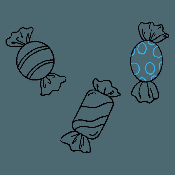 ✎ Dibujos De Caramelos 【+tutorial】 Deliciosos Dulces Para Colorear