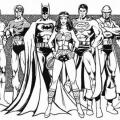 Dibujos De La Liga Dela Justicia Para Colorear