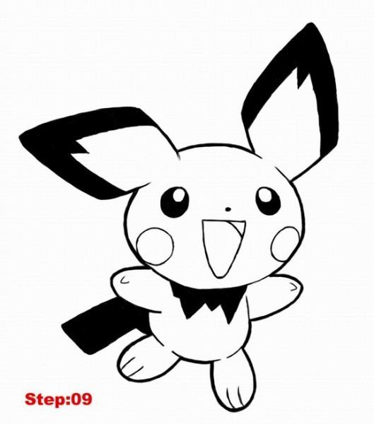 81 Dibujos De Pikachu Para Colorear