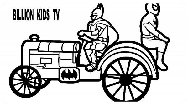Dibujos Para Colorear Batman Batimovil 🥇 Biblioteca De Imágenes