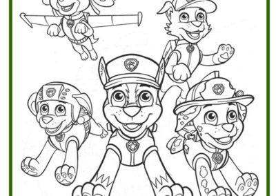 99 Dibujos De La Patrulla Canina ® Imágenes Para Colorear
