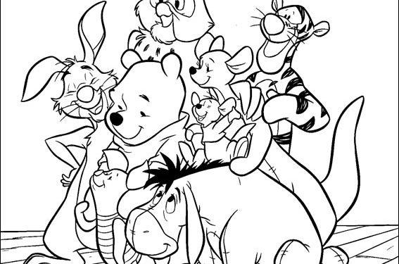 Dibujos De Ninos  Dibujos Para Pintar Disney Junior