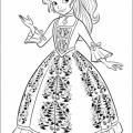 Descargar Dibujos De Princesas Para Colorear Gratis