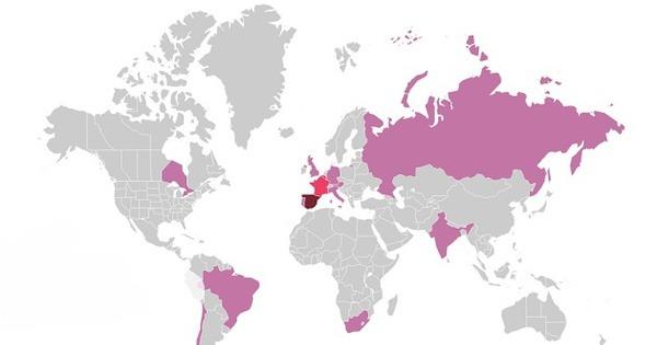 My Travel Map O Cómo Diseñar El Mapa De Los Países Que Has Visitado