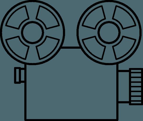 Cámara De Video  10 (objetos) – Páginas Para Colorear