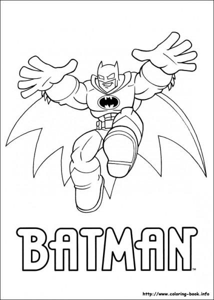 Dc Comics Super Heroes  5 (superhéroes) – Páginas Para Colorear