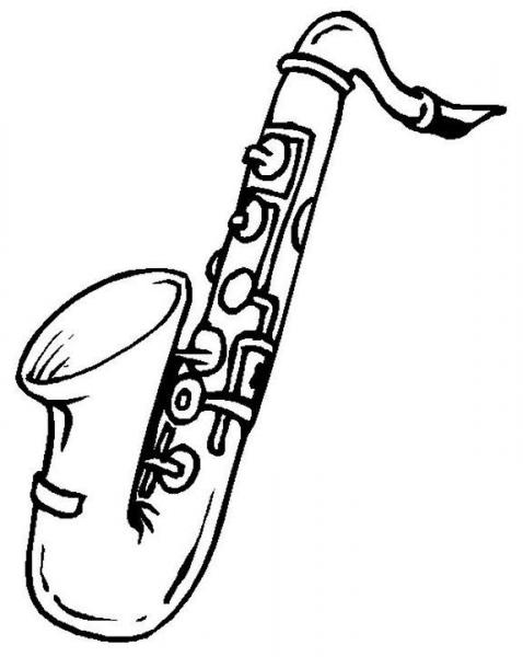 Instrumentos Musicales  9 (objetos) – Páginas Para Colorear