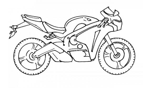 Motocross  13 (transporte) – Páginas Para Colorear