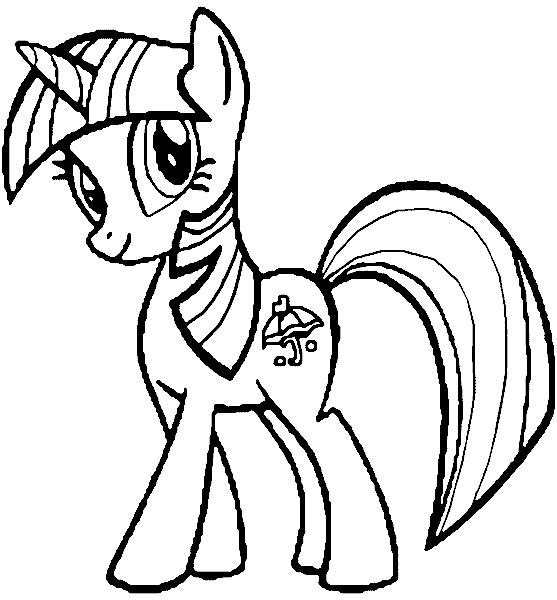 My Little Pony  248 (dibujos Animados) – Páginas Para Colorear
