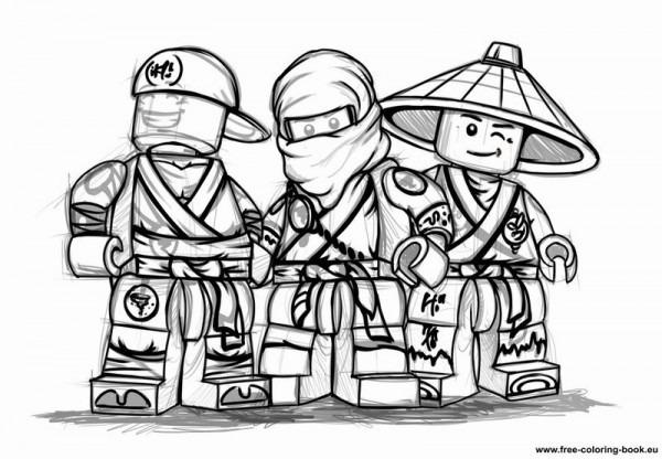 Ninjago  53 (dibujos Animados) – Páginas Para Colorear