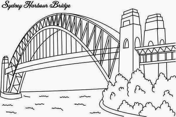 Puente  16 (edificios Y Arquitectura) – Páginas Para Colorear