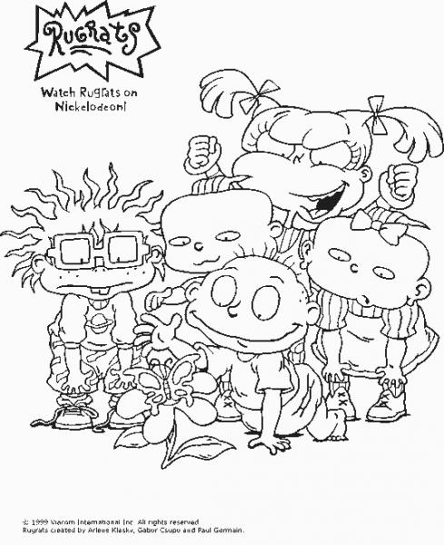 Rugrats  80 (dibujos Animados) – Páginas Para Colorear