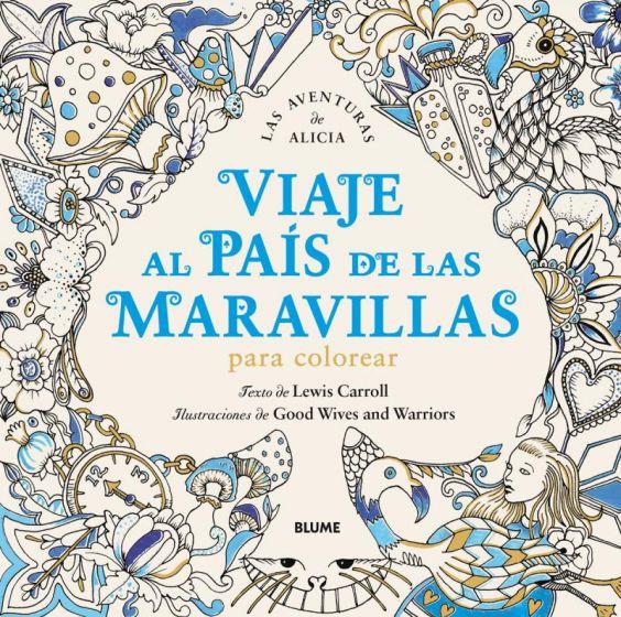 Viaje Al País De Las Maravillas  Para Colorear
