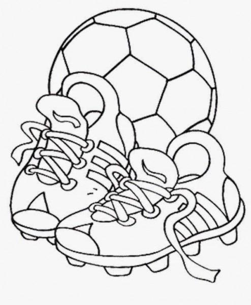 Dibujos Y Plantillas Para Imprimir  Futbol
