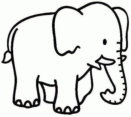 Elefantes – Dibujos Para Pintar
