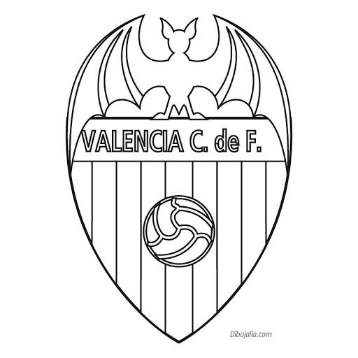 Escudos De Fútbol Para Colorear
