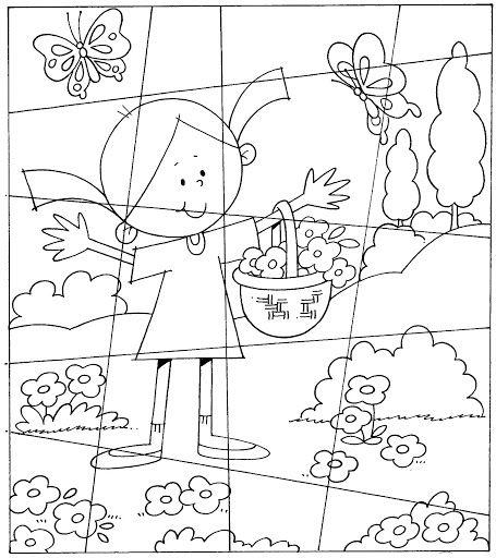 Rompecabezas Infantiles Para Imprimir Y Colorear