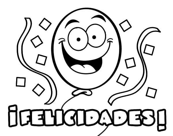 Dibujo De Felicidades Pintado Por Ibischach En Dibujos Net El Día