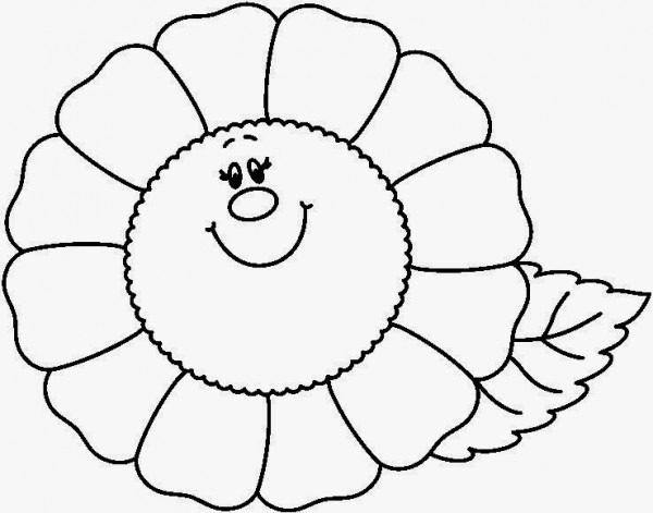 Banco De Imagenes Y Fotos Gratis  Dibujos De Flores Para Colorear