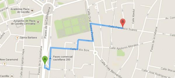 Código Google Maps Para Pintar Rutas