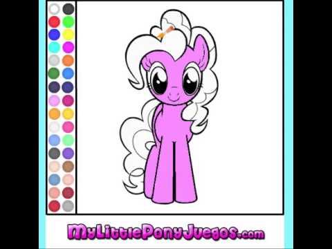 Juego Colorear Pinkie Pie My Little Pony