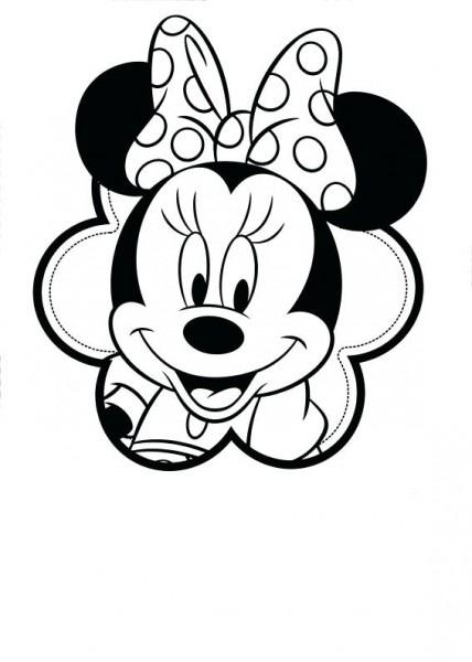 Dibujos De Minnie Para Colorear