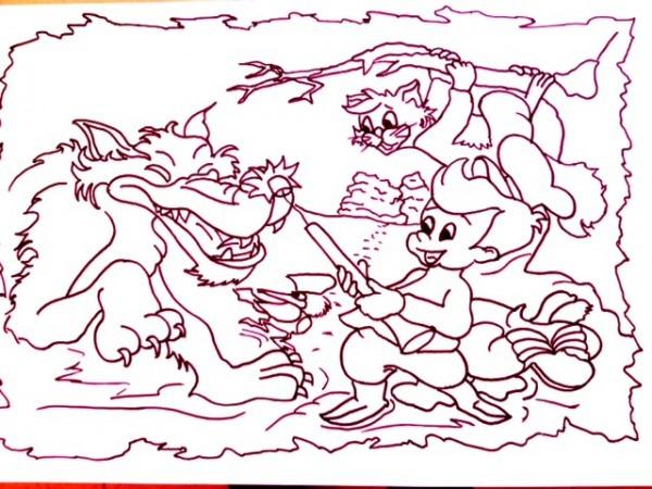 Pedro Y El Lobo Dibujos
