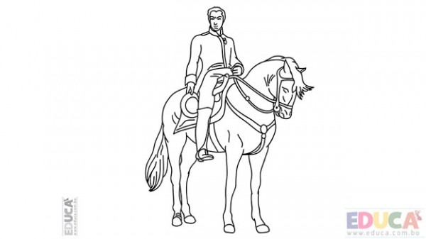 El Libertador  Simón Bolívar  Para Pintar