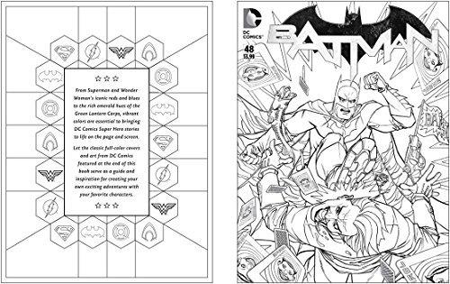 Libro Para Colorear Dc Comics