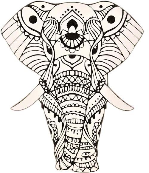 ▷ Mandalas De Elefantes Para Colorear 🥇 Descargar Imprimir Y
