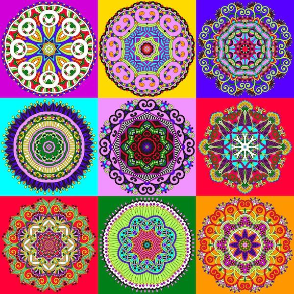 ▷ Mandalas Para Colorear Y Relajarte