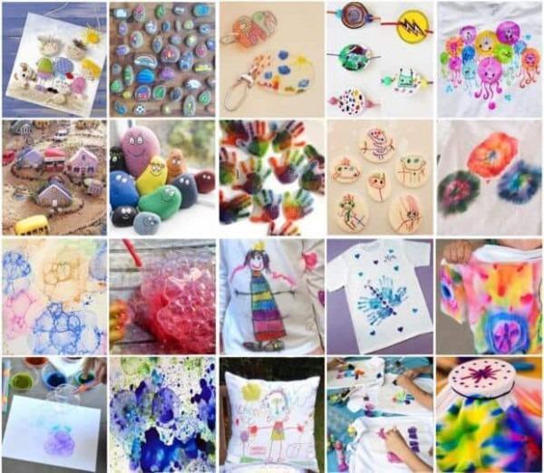 Manualidades Para Niños  Dibujar Y Pintar