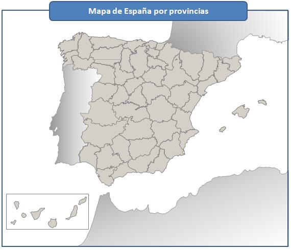 Trucos Excel  Mapa De España Por Provincias