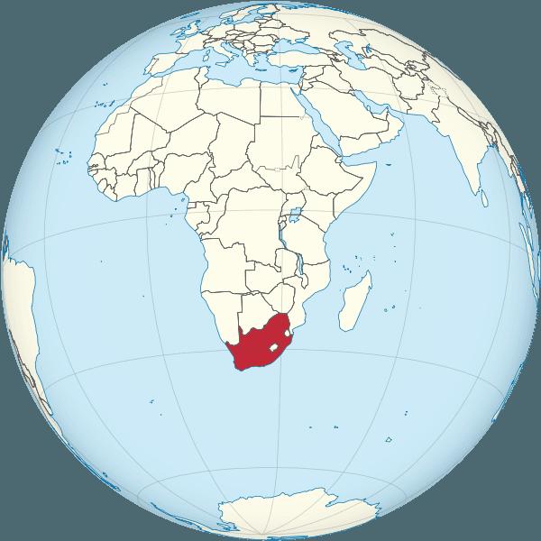 ⊛ Mapa De Sudáfrica