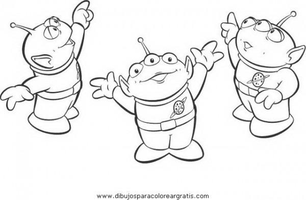 Dibujo Marcianos En La Categoria Dibujos_animados Diseños