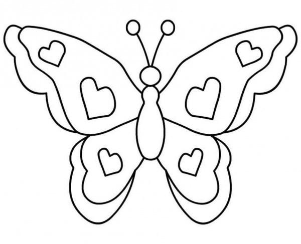 √ Dibujos Para Colorear Imgenes De Mariposas Y Flores